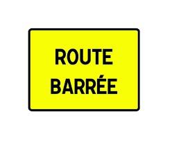 Route barrée – D226